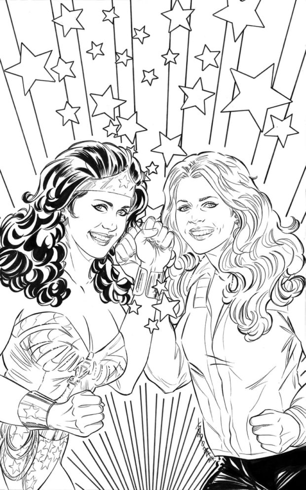Wonder-Woman-77-Bionic-Woman-Coloring-Book-Cover