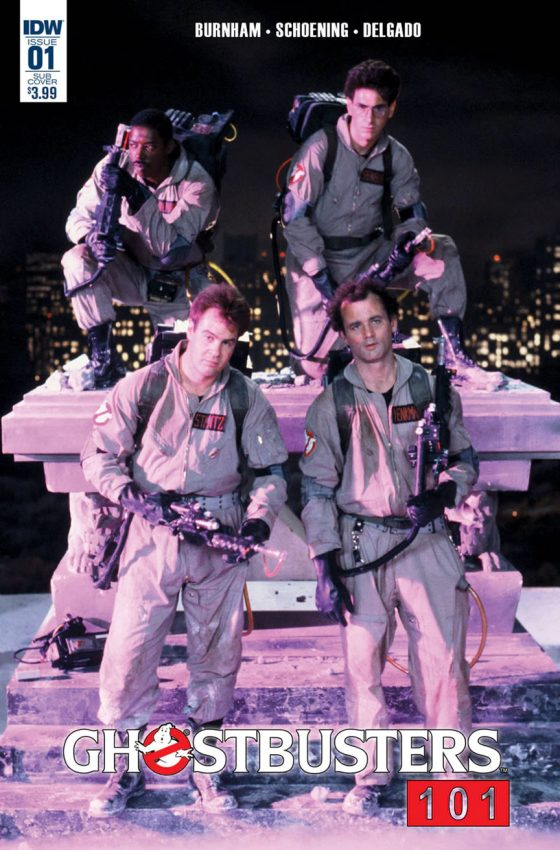 Gibi Ghostbusters Crossing Over