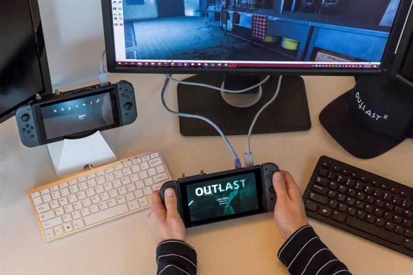 Outlast 1 e 2 chegam ao Nintendo Switch em 2018