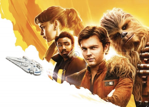 solo star wars story pôster