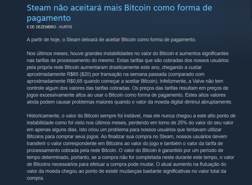steam bitcoin