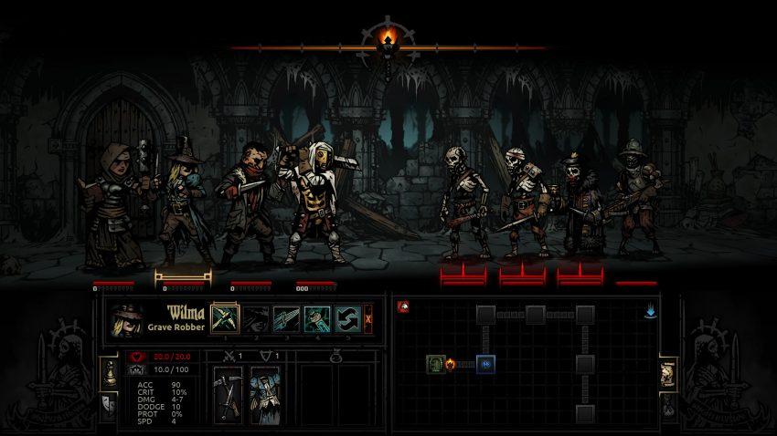 darkest dungeon combate