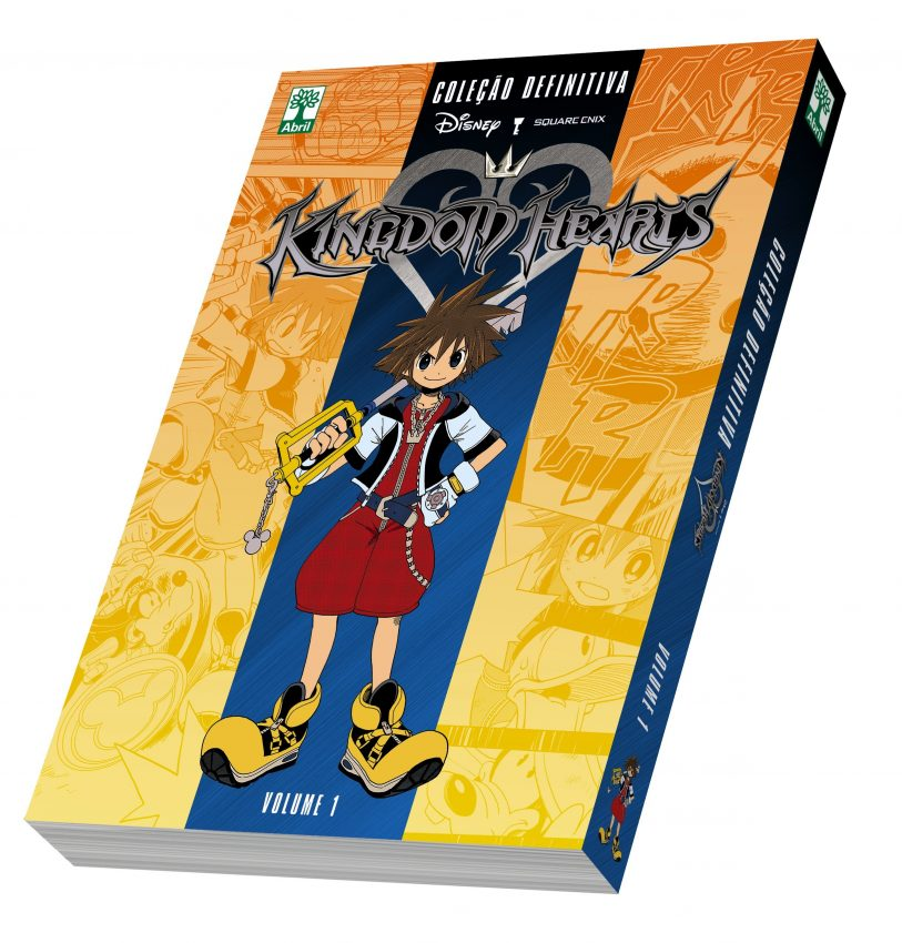 kingdom hearts capa manga definitivo abril