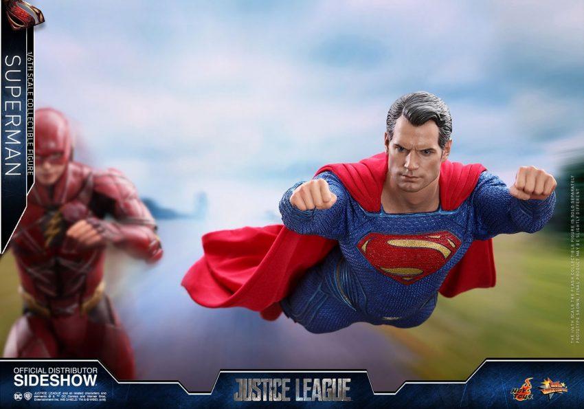 liga da justiça superman hot toys