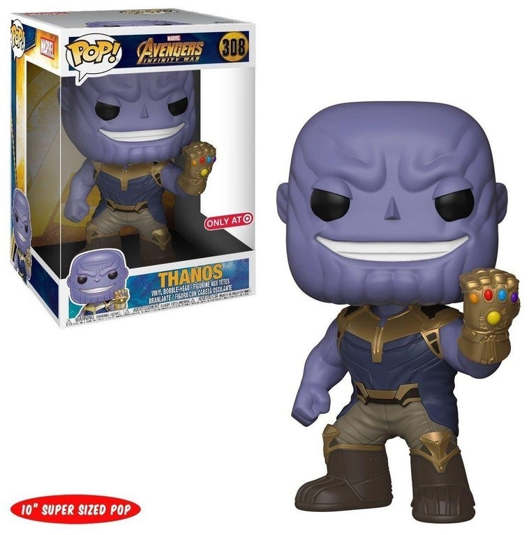 Boneco Funko POP! do Thanos exclusivo da Target