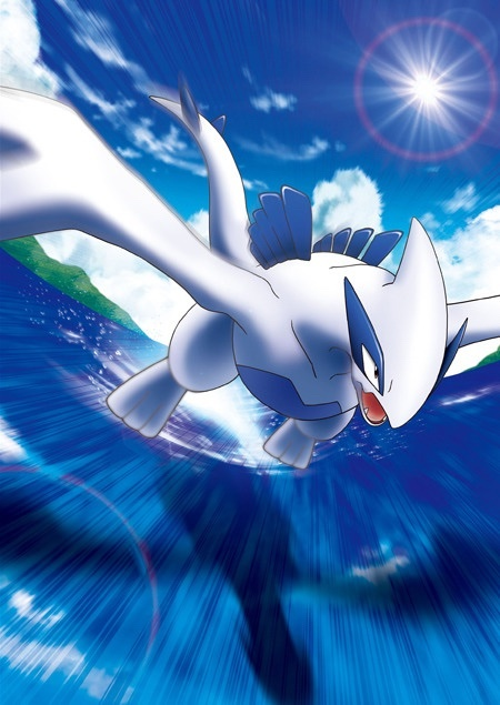 Pokémon The Movie 2018 pôster Lugia (Divulgação: The Pokémon Company)