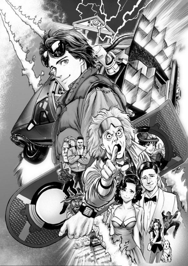 Yusuke Murata Back to the Future manga