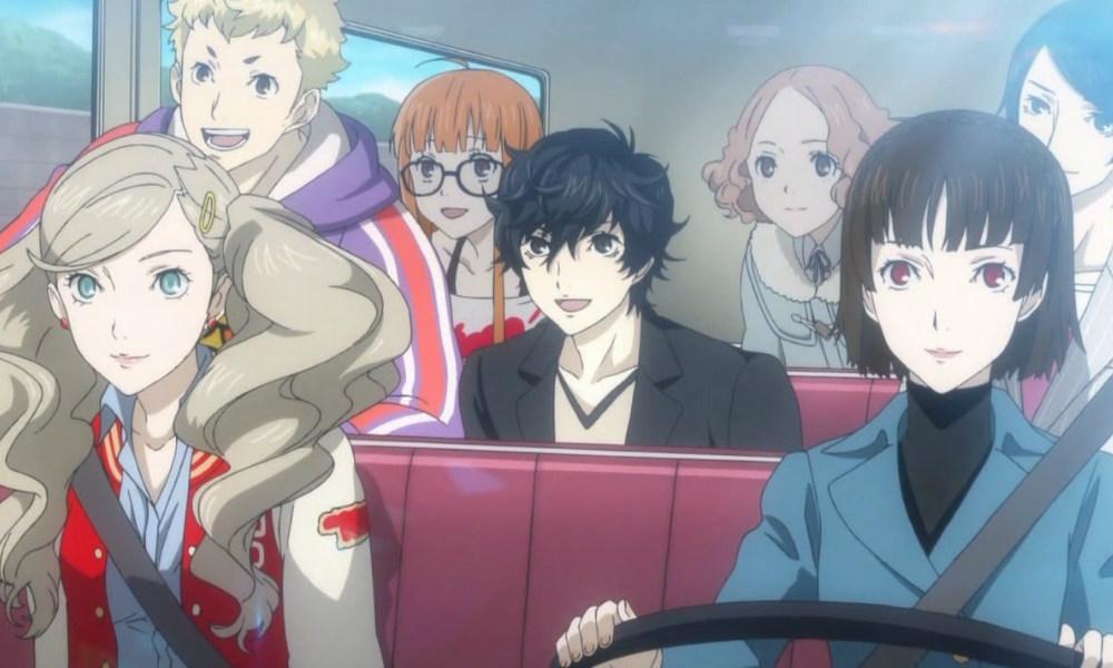 Persona 5 Anime Characters : Anime de persona em nova arte oficial playreplay