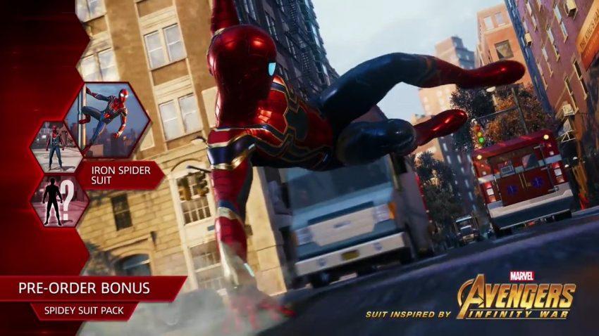 Vazamento indica Iron Spider como segundo traje disponível na pré-venda de Marvel's Spider-Man
