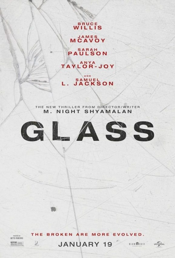 Pôster do filme Glass, de M Night Shyamalan