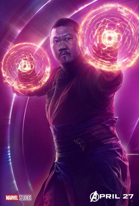 Vingadores Guerra Infinita Wong