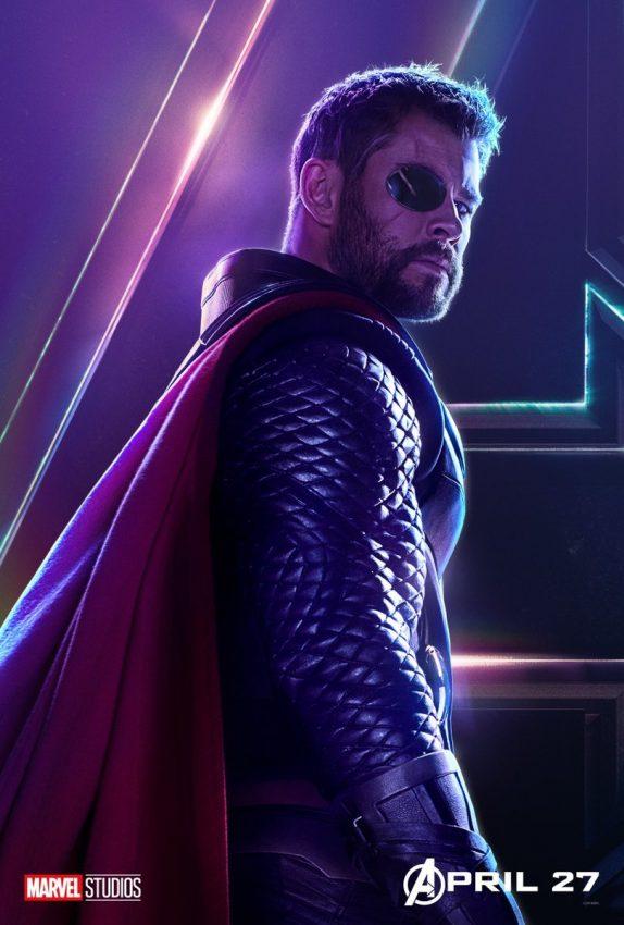 Vingadores Guerra Infinita Thor
