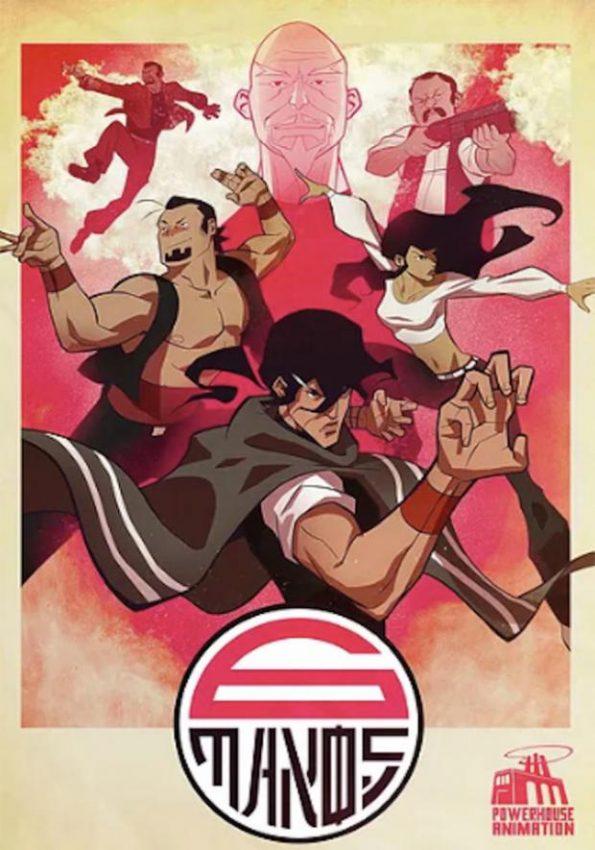 Seis Manos, um anime da Netflix
