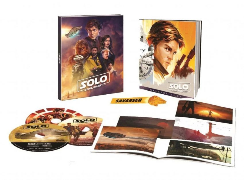 Blu-ray de Solo terá versão caprichada