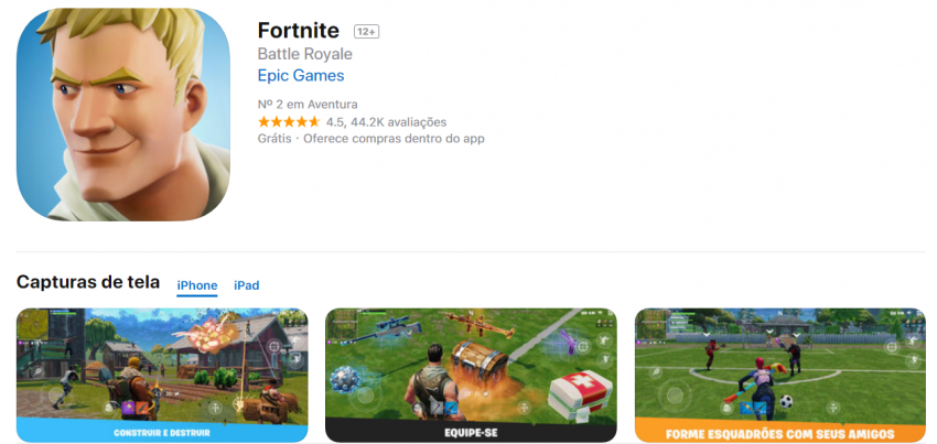 Como baixar Fortnite no android e ios