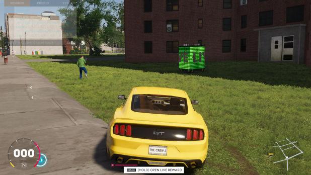 Para melhorar os carros, pegue as caixas LIVE em The Crew 2 (Reprodução / Prima Games)